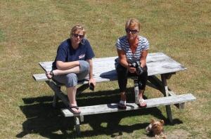 Cori and Sue the supervisors!!