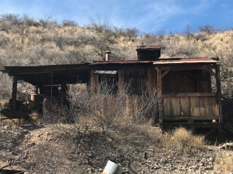 mine shaft house